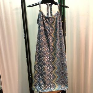 🔵Printed sun dress